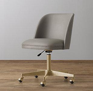 Stupendous Desk Chairs Rh Baby Child Theyellowbook Wood Chair Design Ideas Theyellowbookinfo
