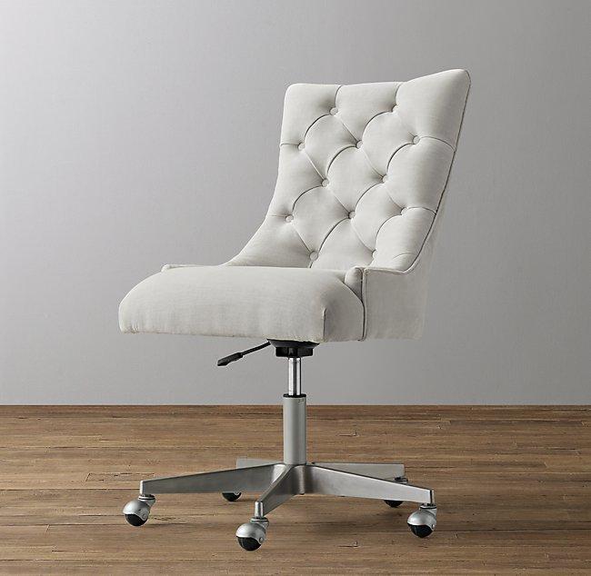 Miraculous Martine Adjustable Velvet Desk Chair Pewter Forskolin Free Trial Chair Design Images Forskolin Free Trialorg