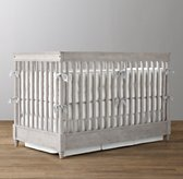 Airin Low-Profile Spindle Crib