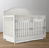 Bellina Low-Profile Arched Panel Conversion Crib
