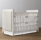 Marcelle Upholstered Low-Profile Crib