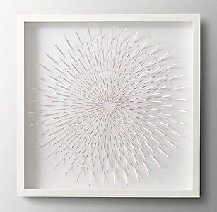Wall art rh baby child cut paper flower medallion art pink mum malvernweather Gallery