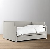 Annika Velvet Daybed with Trundle