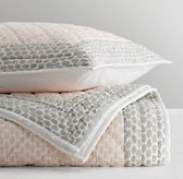 Pebble Print Quilted Sham