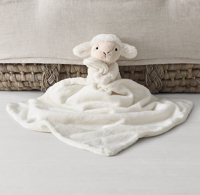Jellycat Plush Security Blanket Lamb