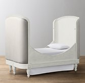 Belle Toddler Bed Conversion Kit - Aged White