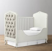 Colette Toddler Bed Conversion Kit - Aged White