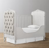 Colette Toddler Bed Conversion Kit - Antique Grey Mist