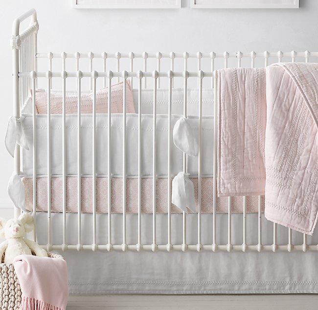 Ultra Fine Organic Cotton Solid Mali Print Medallion Nursery Bedding Collection