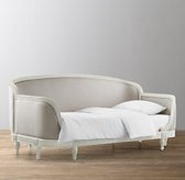Belle Upholstered Daybed - Aged White
