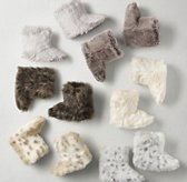 Luxe Faux Fur Kids' Booties