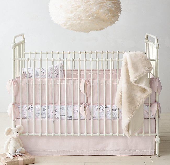 Ultra Fine Organic Cotton Forest Fox Flannel Nursery Bedding Collection