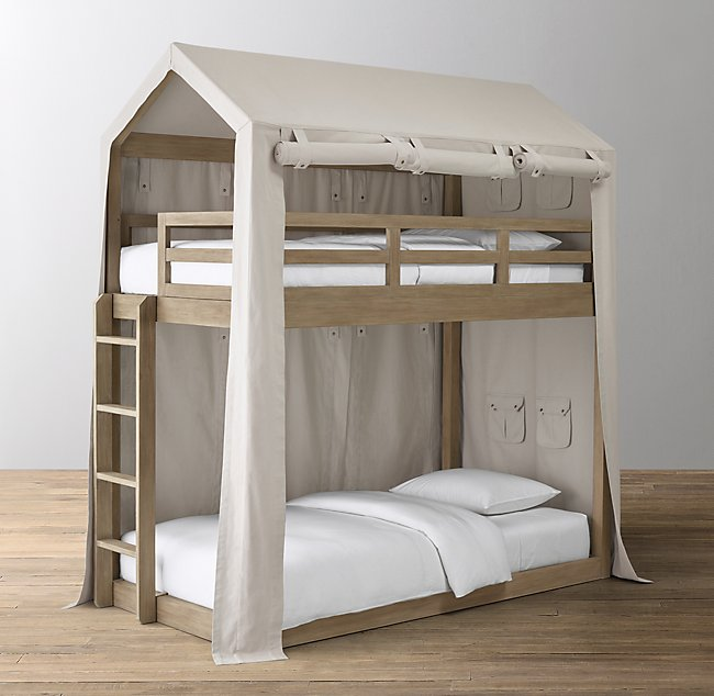 Cole House Bunk Bed Canvas Tent