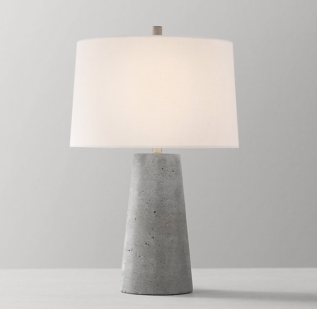 Lawton Table Lamp Base Concrete