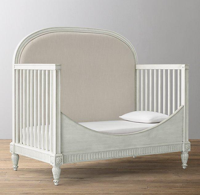Terrific Belle Upholstered Conversion Crib Toddler Bed Kit Creativecarmelina Interior Chair Design Creativecarmelinacom