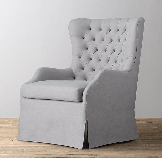 Excellent Tufted Wingback Upholstered Swivel Glider Cjindustries Chair Design For Home Cjindustriesco