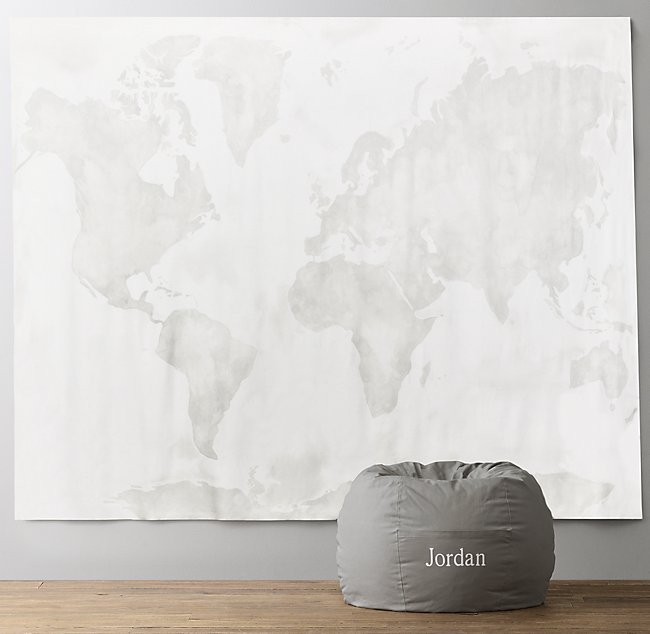 World map watercolor grand canvas wall tapestry gumiabroncs Images