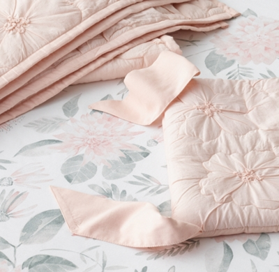 sneakers for cheap 647ab 74a45 Traced Floral Voile & Botanical Watercolor Washed Percale ...