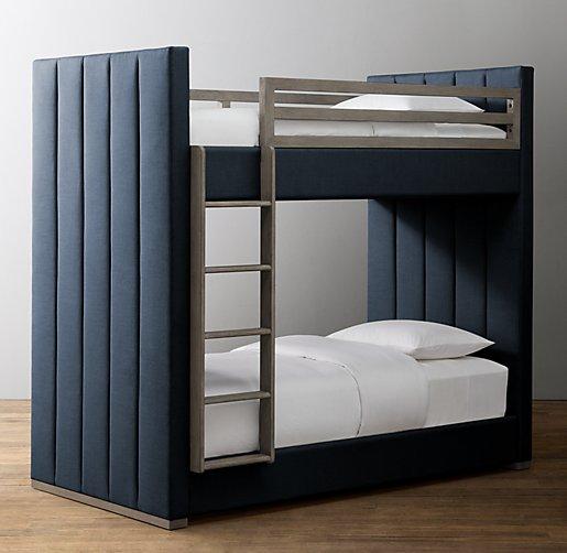 Carver Upholstered Bunk Bed