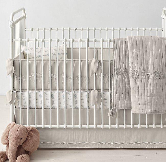 Savannah Organic Cotton Nursery Bedding Collection